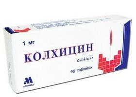 Эффективность Колхицина при подагре