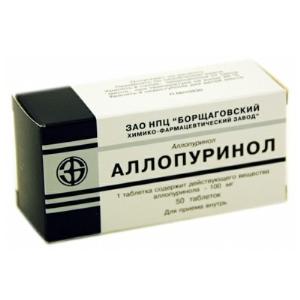 Как лечить подагру аллопуринолом