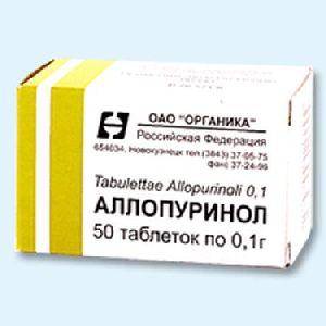 Аллопуринол от подагры