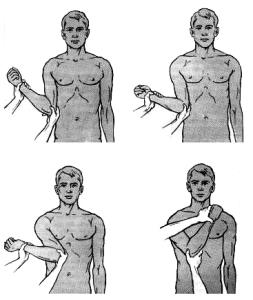 Как правильно вправить плечо